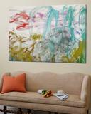 Waterlilies, 1917-19 (Detail) Posters av Claude Monet