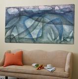 Rainy Day; Regentag Poster von Paul Klee