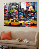 Downtown Print by James Grey