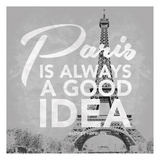 Paris Grey Art by Jace Grey