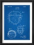 Football Helmet Patent Obrazy