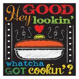 Chalkboard Kitchen Art 3 Posters by Melody Hogan