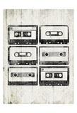Vintage Tapes Prints by Jace Grey