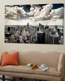 View of Manhattan, New York Art by Steve Kelley