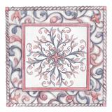 Florentine Rose Quartz & Serenity 1 Posters by Lorraine Rossi