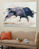 Charging Bull, 1998 Prints by Mark Adlington