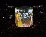 Kobe Bryant 24 Introduced Before his Last Game - Los Angeles Lakers vs Utah Jazz, April 13, 2016 Photo by Jesse D. Garrabrant
