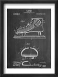 Hockey Shoe Patent Plakát