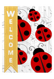 Welcome Ladybug Prints by Kimberly Allen