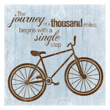 Journey Bike Prints by Lauren Gibbons