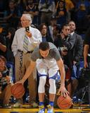 Stephen Curry 30 Warms Up - Golden State Warriors vs Memphis Grizzlies, April 13, 2016 Photo by Garrett Ellwood