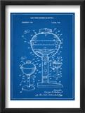 Gas Fired Grill Patent Umění