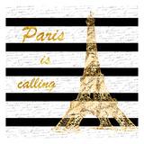 Black Paris Romance Prints by Sheldon Lewis