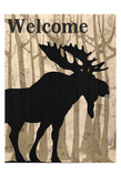 Welcome To The Lodge Prints by Kimberly Allen