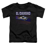 Toddler: Chevy- El Camino Dash T-Shirt