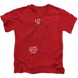 Youth: Sesame Street- Elmo Loves You T-shirts