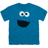 Youth: Sesame Street- Cookie Monster Face Shirts