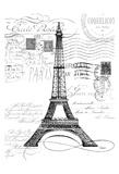 Eco Vintage Paris 1 Posters by Carole Stevens
