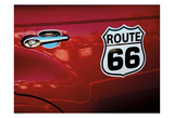 Classic Route 66_182516 Poster by May May