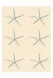 SeaStar 2 Multi Cream Prints by Tina Carlson