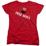 Womens: Sesame Street- Elmo Free Hugs Shirts