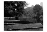 Central Park Row Boats II Print by Jeff Pica
