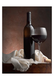 Red Wine And Cork Posters by Barry Seidman