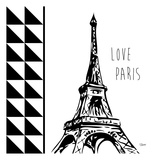 Love Paris Poster by Carole Stevens