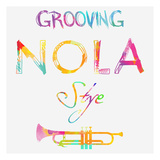 Nola Groove Plakater af Sheldon Lewis
