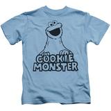 Juvenile: Sesame Street- Vintage Cookie Monster T-shirts