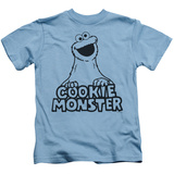 Youth: Sesame Street- Vintage Cookie Monster T-shirts