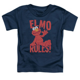 Toddler: Sesame Street- Elmo Rules Shirt