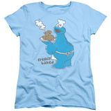 Womens: Sesame Street- Freshly Baked Cookies T-shirts