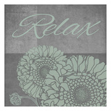 Spa Flower-Relax Art by Tina Carlson