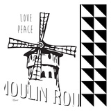 Love Peace Prints by Carole Stevens