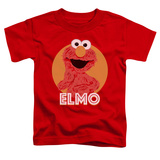 Toddler: Sesame Street- Smiley Elmo T-shirts