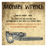 Monkey Wrench Posters by Sheldon Lewis