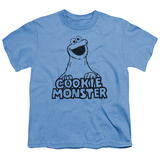 Youth: Sesame Street- Vintage Cookie Monster T-Shirt