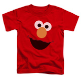Toddler: Sesame Street- Big Elmo Face T-shirts