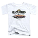 Toddler: Chevy- El Camino Incredible Truck T-shirts