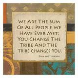 Tribe Change Prints by Alonza Saunders