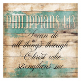 Strengthens Me Prints by Jace Grey
