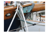 Sailboat Lines Print by Suzanne Foschino