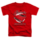 Toddler: Chevy- Retro Camaro T-shirts