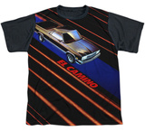 Youth: Chevy- Laser Camino Black Back Shirt