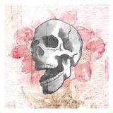 Floral Skull Prints by  OnRei