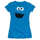 Juniors: Sesame Street- Cookie Monster Face T-shirts