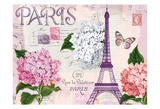 Paris in Lavendar Poster von  Ophelia & Co.