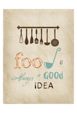 Good Food Print by Sheldon Lewis