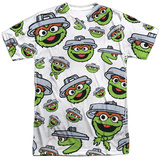 Sesame Street- Lots Of Oscar Sublimated